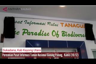 Peresmian Pusat Informasi Taman Nasional Gunung Palung Sukadana