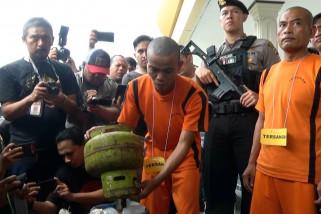Polres Sukabumi Kota tangkap pengoplos gas subsidi