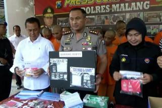 Polres Malang ungkap tren peredaran narkoba dengan sistem ranjau