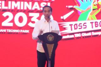 Presiden Jokowi dorong pencegahan TBC daripada pengobatan