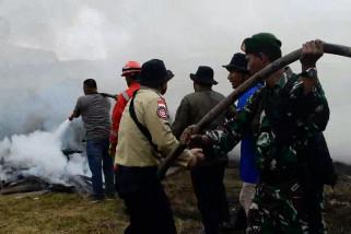Relawan karhutla siap ciptakan langit biru di Riau