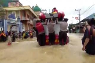 Banjir setinggi 1 meter rendam wilayah Banjarbaru
