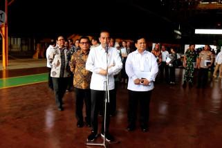 Jokowi dorong kemandirian industri strategis pertahanan nasional