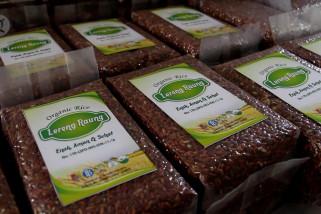 Beras organik Sumber Jambe yang menembus pasar nasional