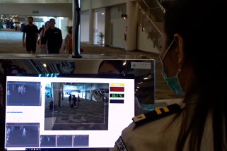 Bali antisipasi virus Corona di bandara