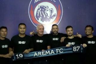 Arema FC target lolos ke Liga Champhion Asia bersama Mario Gomez
