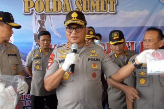 Narkoba baru jenis bubuk masuk ke wilayah Sumatera Utara