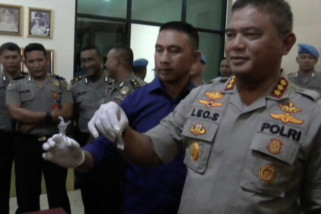 Polisi tangkap polisi pelaku pesta sabu