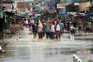 Banjir genangi 11 kecamatan di Kabupaten Subang