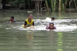 Ratusan rumah di Lumajang terendam banjir