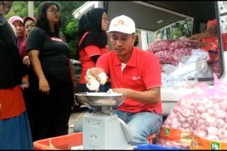 Kementan gelar operasi pasar bawang putih di Banten