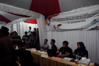 Tiga balon perseorangan serahkan dukungan Pilkada Surabaya