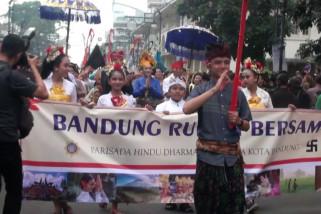 Parade lintas agama Bandung Rumah Bersama
