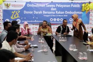 Ombudsman Aceh terima 1.200 laporan mal administrasi pelayanan publik