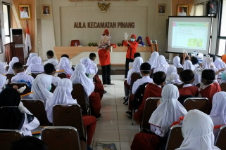PMI Kota Tangerang latih siswa sekolah dasar
