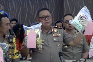 Polrestabes Surabaya ungkap 32,3 kilogram sabu-sabu jaringan internasional