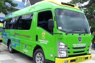 Pemko Banjarmasin operasikan 6 bus Transbanjarmasin