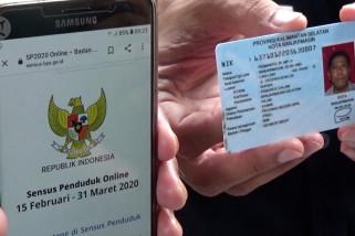 Sensus Penduduk 2020 secara online dimulai