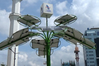 Solar tree, inovasi pohon tenaga surya multifungsi