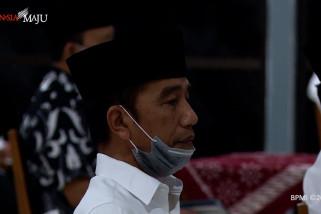Jokowi dan keluarga gelar tahlilan untuk sang Ibunda