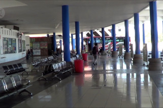 Terminal Mengwi tetap beroperasi dengan pengawasan ketat
