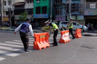 12 ruas jalan protokol di Medan ditutup