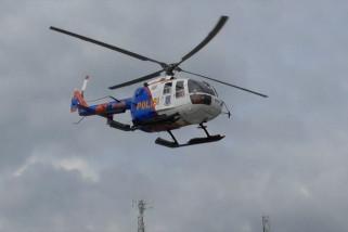 Patroli keliling pulau Gubernur beserta Kapolda Babel gunakan helicopter