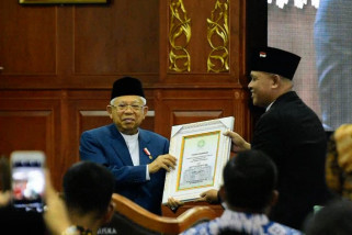 UIN Suska Riau anugerahi Wapres gelar Bapak Ekonomi Syariah