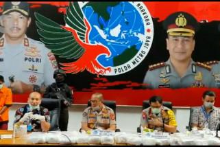 Polda Metro Jaya gagalkan penyelundupan 27 kg sabu asal Malaysia