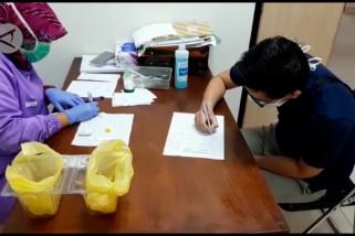 RSHS Bandung gelar rapid test, 8 warga Magetan positif COVID-19