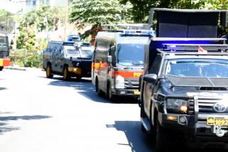Mobil Raisa keliling kota sosialisasi corona