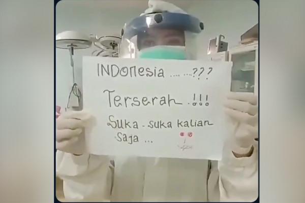 Viral Indonesia Terserah Apa Kata Tenaga Medis Dan Psikolog