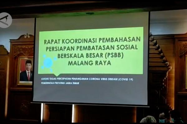 Gubernur Jatim segera ajukan PSBB Malang Raya