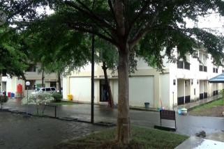 Gedung karantina khusus OTG Positif COVID-19 di Kalsel