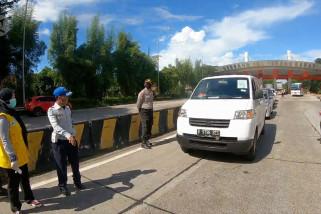 Pemeriksaan kendaraan di tol Serang Timur dan Barat diperketat
