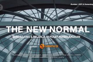 ''New Normal'', berdagang dan belanja di pusat perbelanjaan