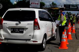 Lebih dari 6.300 kendaraan menuju Jabodetabek diminta putar balik