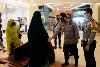 Kepolisian sidak pusat perbelanjaan di Kota Pekanbaru