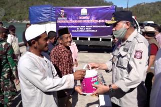 Korban angin puting beliung di Aceh terima bantuan material rumah