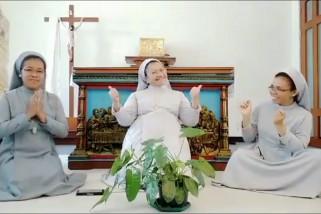 Terharu, Ulil unggah video biarawati nyanyikan lagu Idul Fitri