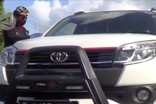 Hari pertama PKM di Denpasar, 24 kendaraan ditolak masuk