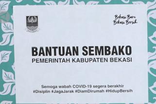 4.962 paket sembako untuk Desa Mangunjaya