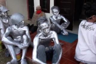 Pemkot Medan razia gepeng dan manusia silver