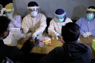 Pemkot Malang lakukan tes cepat pada pengunjung kafe