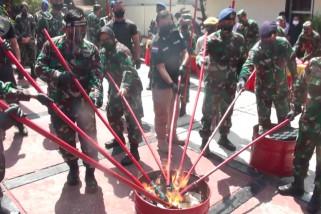 TNI dan BNNP Jabar musnahkan 5kg Sabu