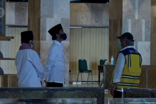 Presiden serahkan keputusan buka Masjid Istiqlal ke Imam Besar