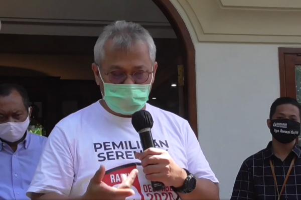 Ketua KPU akan verifikasi pengganti Komisioner KPU Surabaya yang dicopot