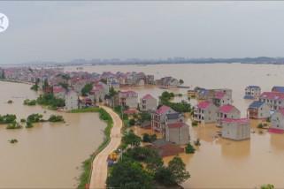 Danau terbesar di China catatkan rekor kenaikan level air