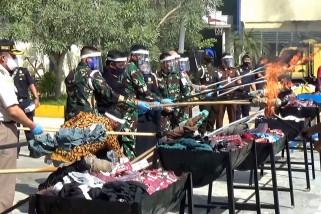 Bea Cukai Sumut musnahkan barang ilegal senilai Rp3,2 miliar