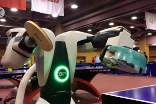 Pongbot M-ONE, robot pelatih tenis meja